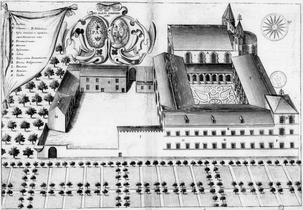 monestirs monasticon gallicanum. Black Bedroom Furniture Sets. Home Design Ideas