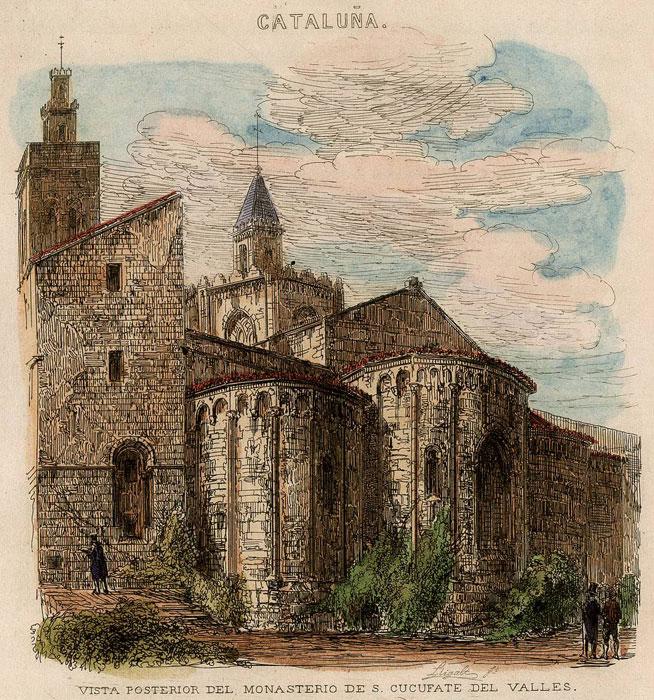 Monasterios de catalunya monasterio de sant cugat - Temperatura actual en sant cugat del valles ...